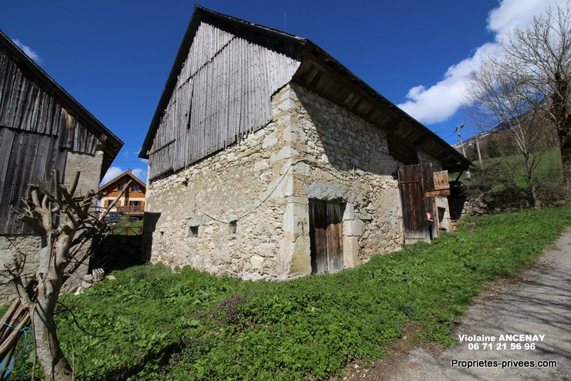 Grange à restaurer 120m² en Chartreuse