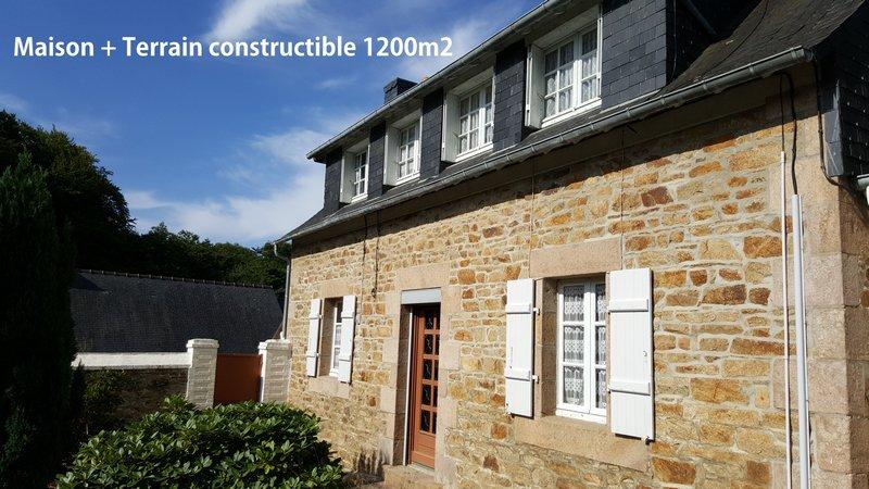 Maison + terrain constructible