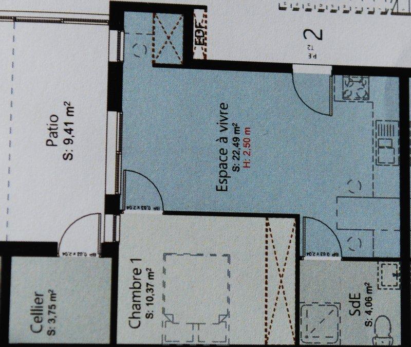 Vente t2 41 m bordeaux 33000 for Vente t2 bordeaux