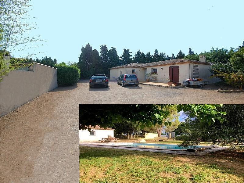 Villa plain-pied avec piscine et gîte Carcassonne