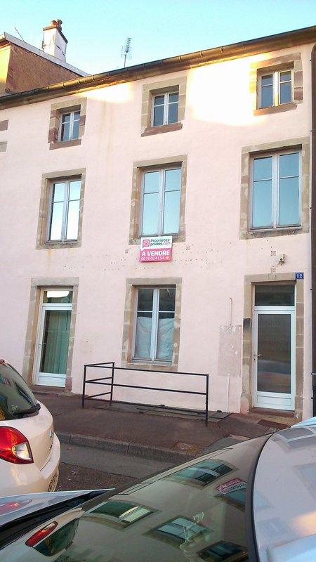 Vente immeuble 180 m luxeuil les bains 70300 for Concevoir mon propre immeuble