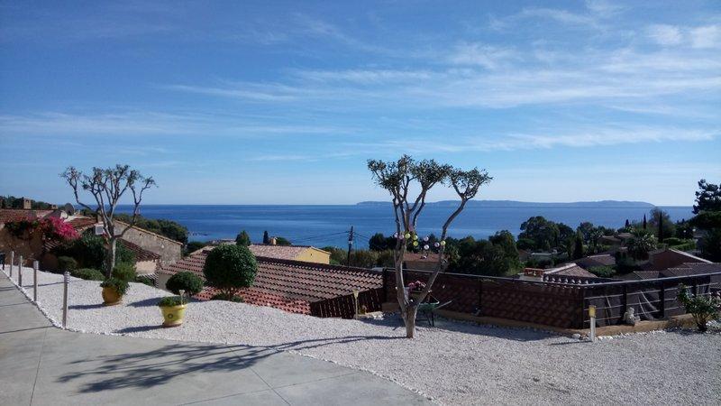 Le Lavandou Villa vue mer Aiguebelle