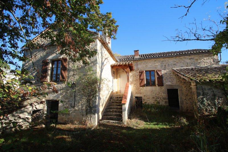 Cahors sud ouest maison quercynoise à rénover