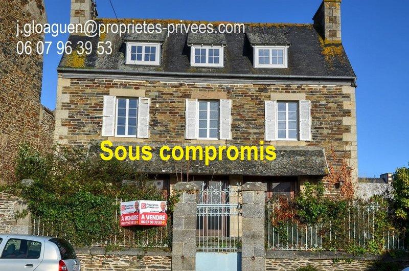 Propriété : 2 grandes maisons en centre-ville