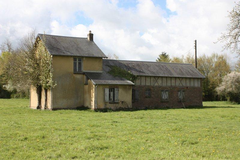 Normandie 61550 Villers.e.O. longère 6p. 3ch 121m²
