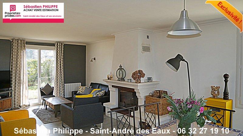 Belle maison - 4 chambres - 1000 m² de terrain