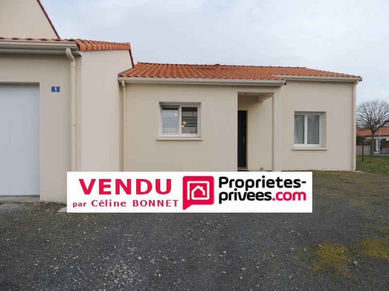 Plainpied 80m², 2 chambres, garage, proche centre