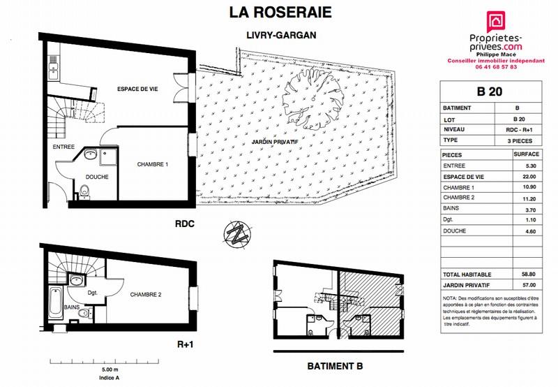 Maison 3 pièces - LIVRY GARGAN (93190)