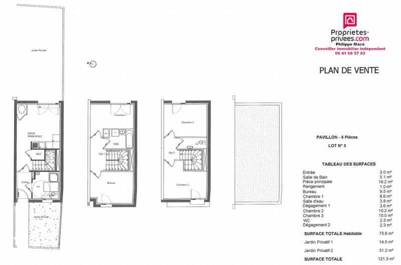 Maison 5 pièces - 75 m2 - VILLEPARISIS (77270)