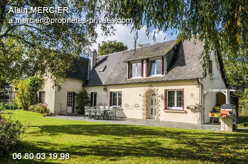 Normandie 61370 Ste-Gauburge longére.6p.119m²3 ch
