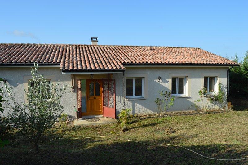 Maison de 2011, Plain pied, 3 chambres, Terrasse