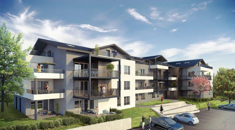 3 piéces 63 m² 74140 EXCENEVEX