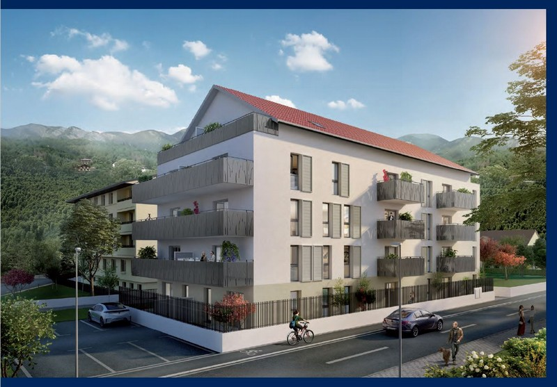3 pièces 56 m² 74130 BONNEVILLE