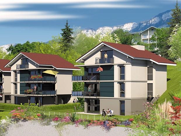3 pièces 63 m² 73100 AIX LES BAINS