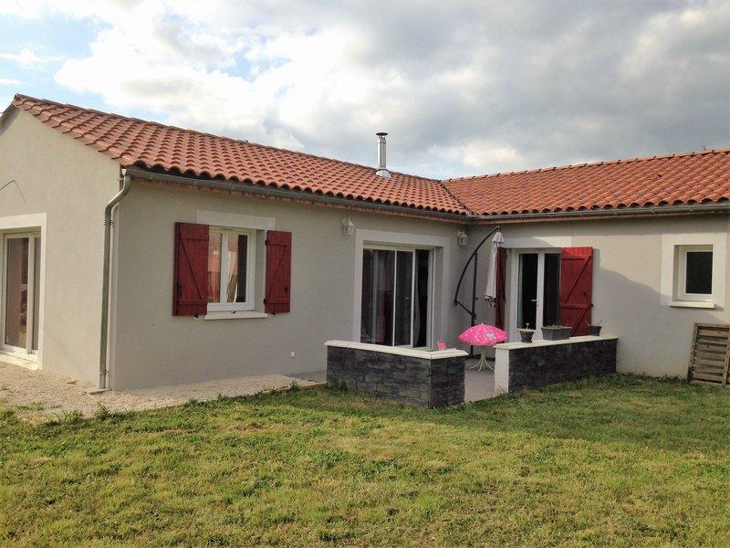 Vente maison r cente 130 m saint julien de lampon 24370 for Vente maison recente