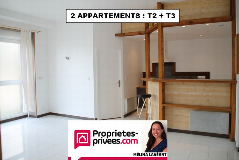 2 appartements : T2 + T3