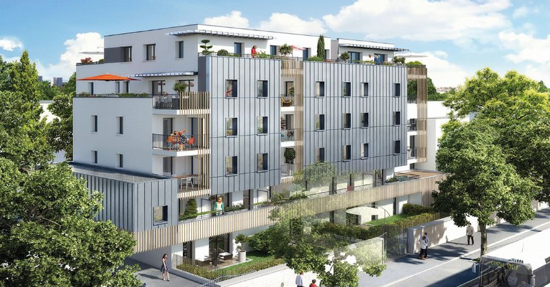 T4 avec terrasses - 102 m² -Nantes Plessis Tison