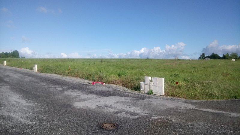 terrain constructible de 589m² à  plouay