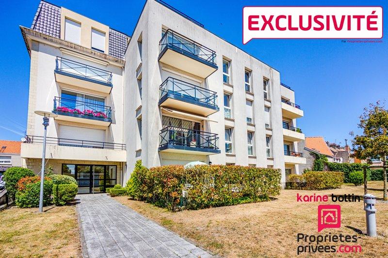 Exclusivité appartement à vendre 52m² CALAIS