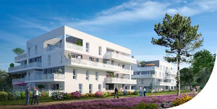 56600 Lanester Appartement neuf  T2 41 m² 1éme étage Prix 119 000€ HAI