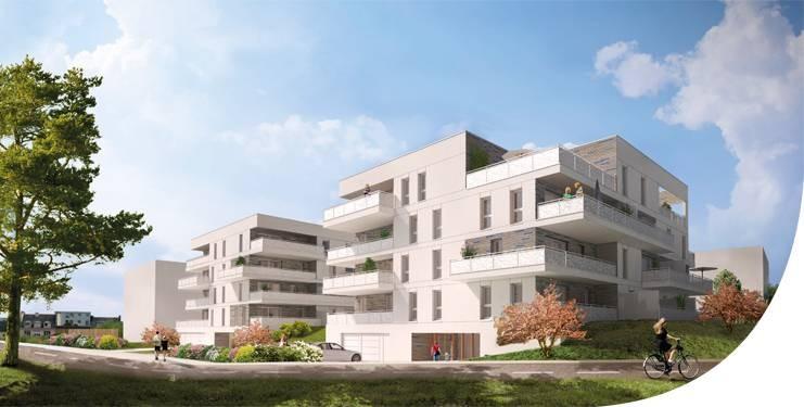 56600 Lanester Appartement neuf  T3 59 m² 1éme étage avec garage Prix 159 000 HAI