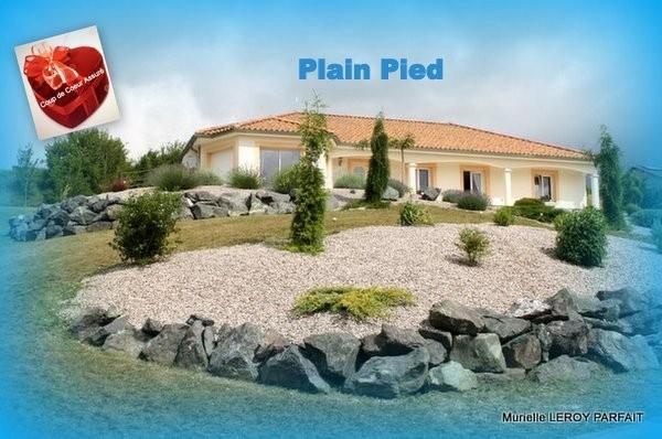 (55)MAISON PLAIN PIED 185m² 3CH/Terrain/268000€HAI