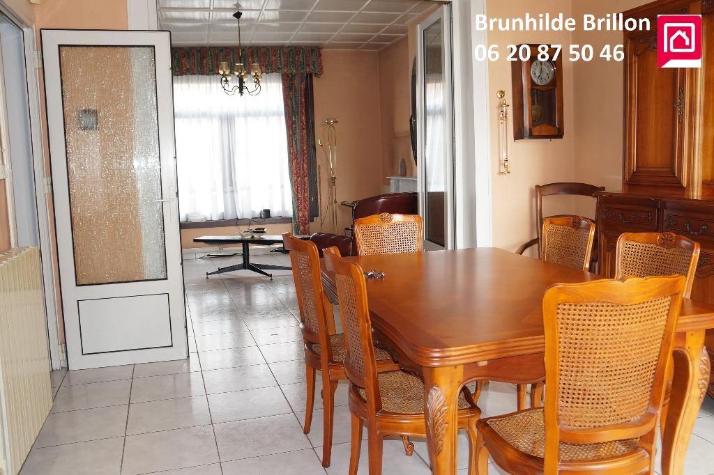 Maison Noyelles Sous Lens, 3 chambres, 105 m2, grand garage, jardin