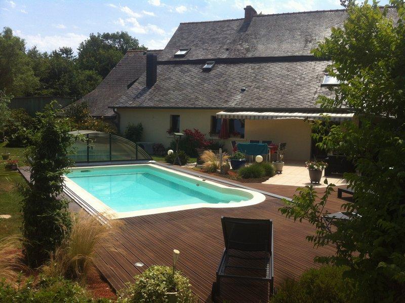 longère avec piscine axe Rennes / Saint Malo