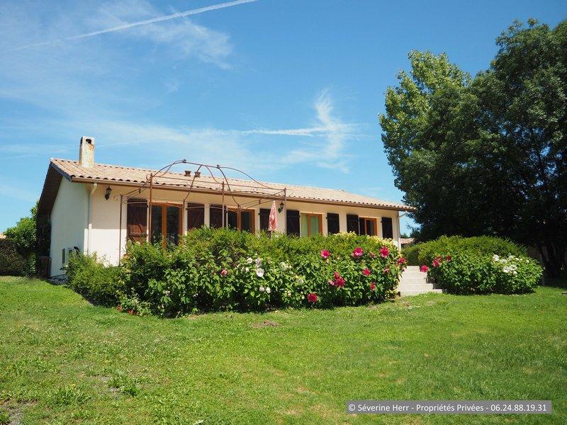 Maison 3 chambres et terrain à Cézac (33620)