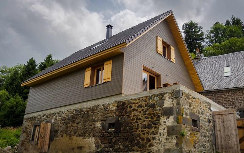 Vente maison neuve 140 m mont dore 63240 for Vente de maison neuve