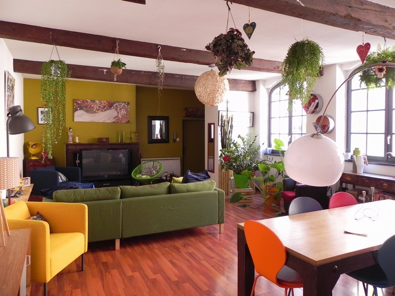 vente duplex triplex 120 m montauban 82000. Black Bedroom Furniture Sets. Home Design Ideas
