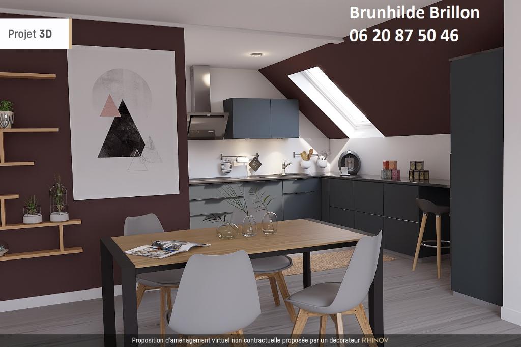 Lumineux Appartement 2 chambres, hyper centre résidence gardiennée