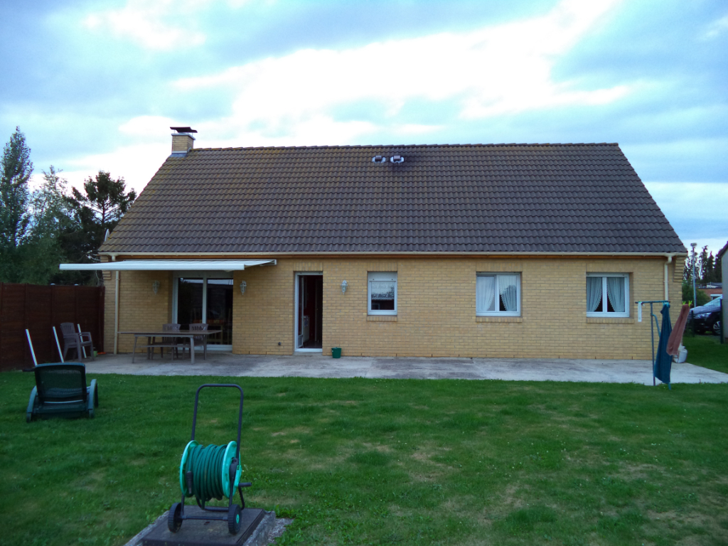 Plain pied individuel -115 m2- 3 chambres-
