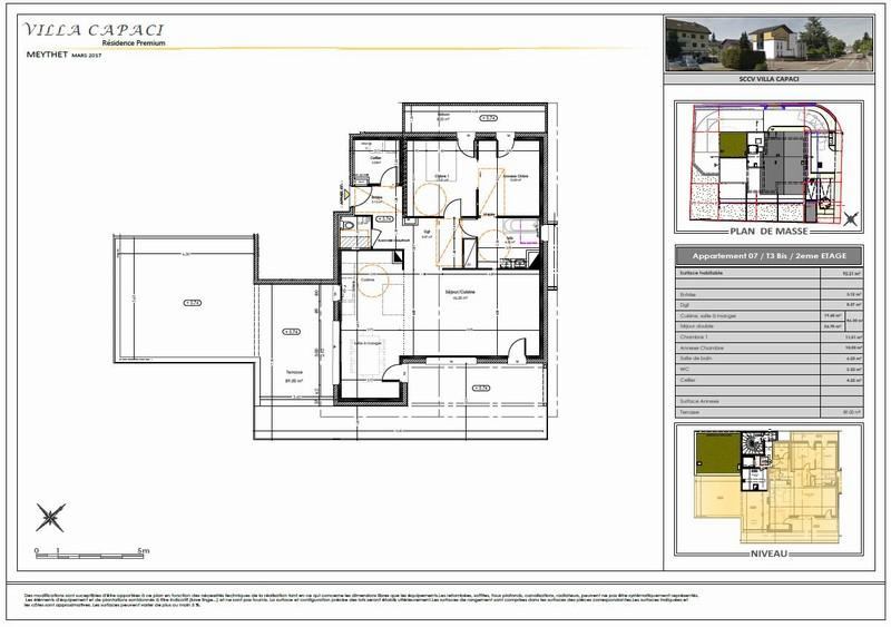 3 pièces 92 m² 74960 MEYTHET