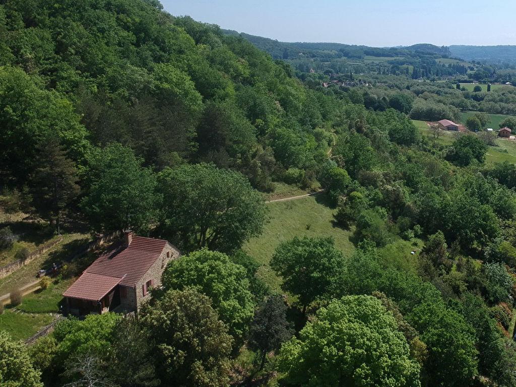 Maison nature, 2 chambres, 77 m2, belle vue