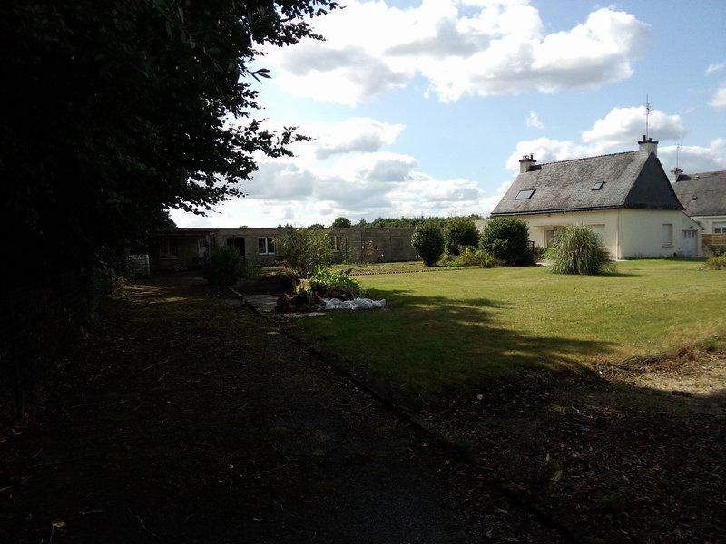 Belle maison plain-pied, campagne, terrain 1640m2