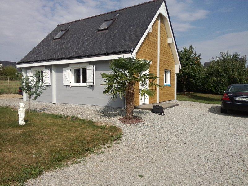 Maison bois massif, habitable de suite