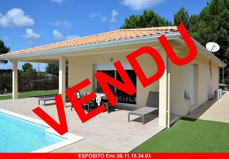 Villa T4 avec piscine proche Mimizan