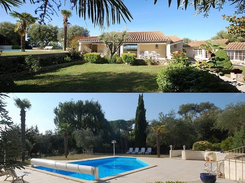 Villa de standing avec piscine et gîte