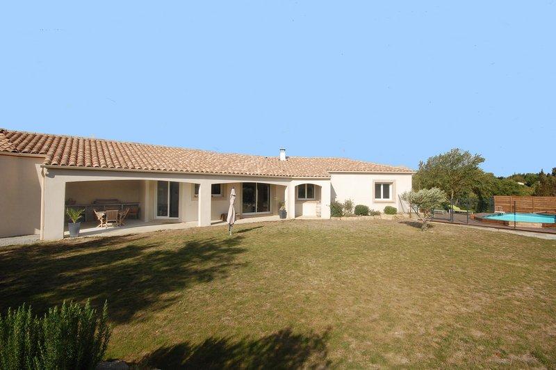 Villa standing plain-pied piscine près Carcassonne