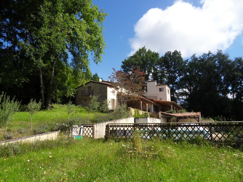 Vue Sarlat, piscine, 7 chambres, 2 saunas