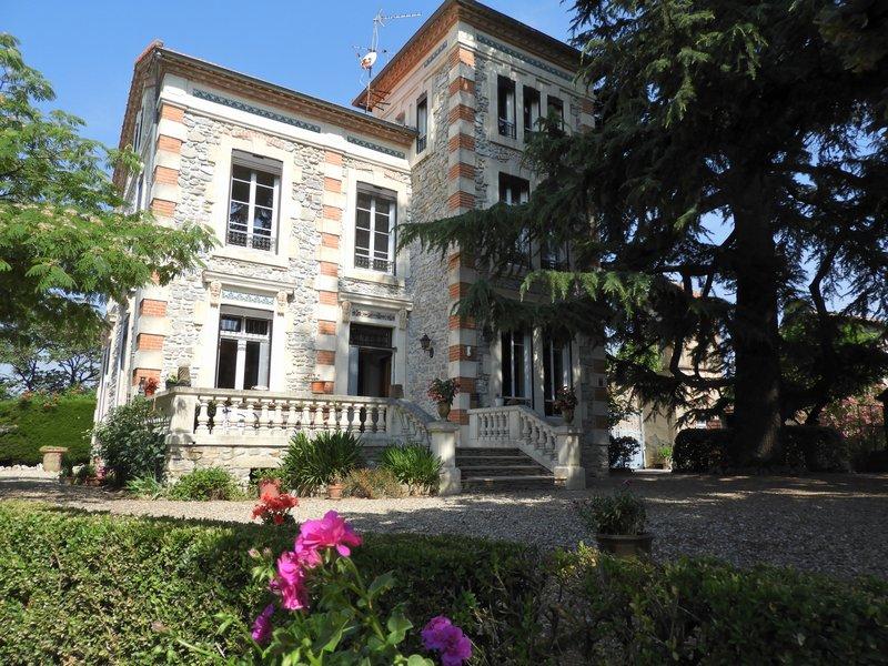 Magnifique maison sur un très beau parc