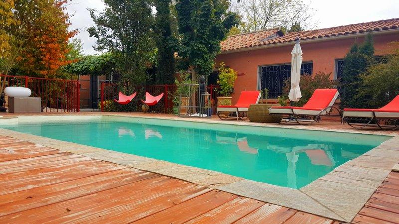 Villa plain pied 164m², piscine