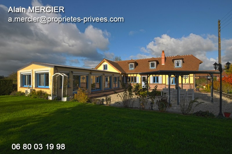TICHEVILLE 61120 maison  7pp.4ch.170m.²ter.6.660m²