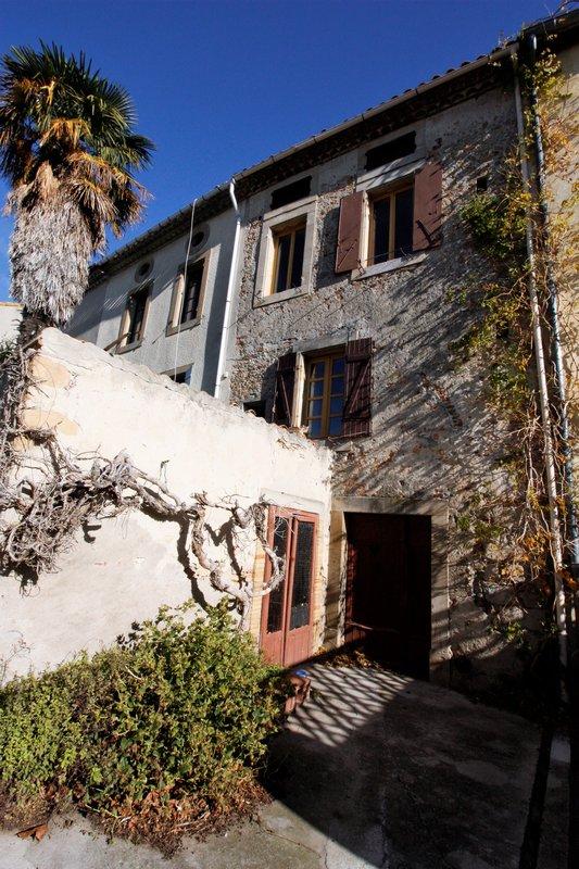 VENTE MAISON DE VILLAGE 110 m² BRAM (11150)