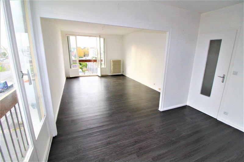 creil - appartement 74m² - 2 chambres et garage