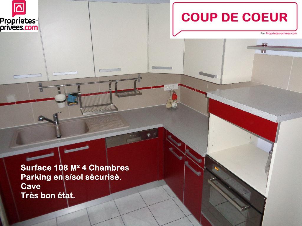 Appartement 108 M² Familiale 4 Chambres, Besançon