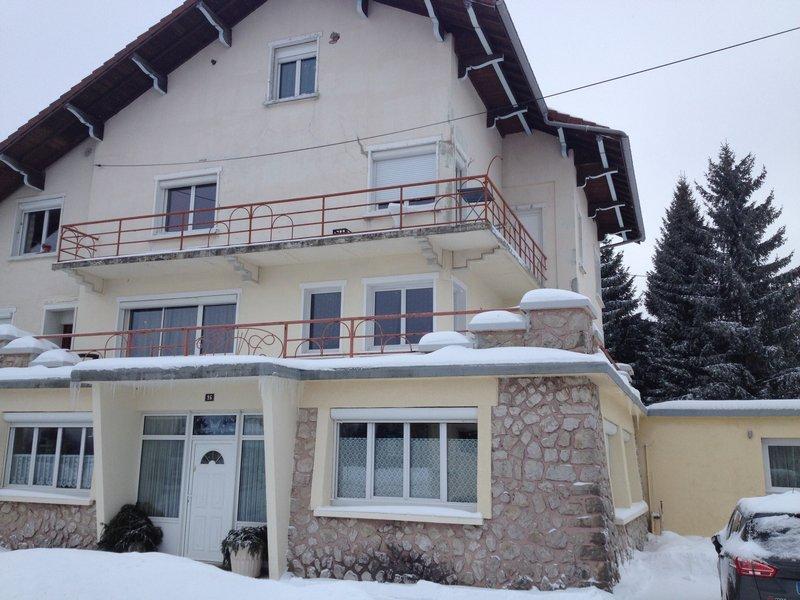 Les Rousses 93m²+ 60m² terrasse + garage 41m²