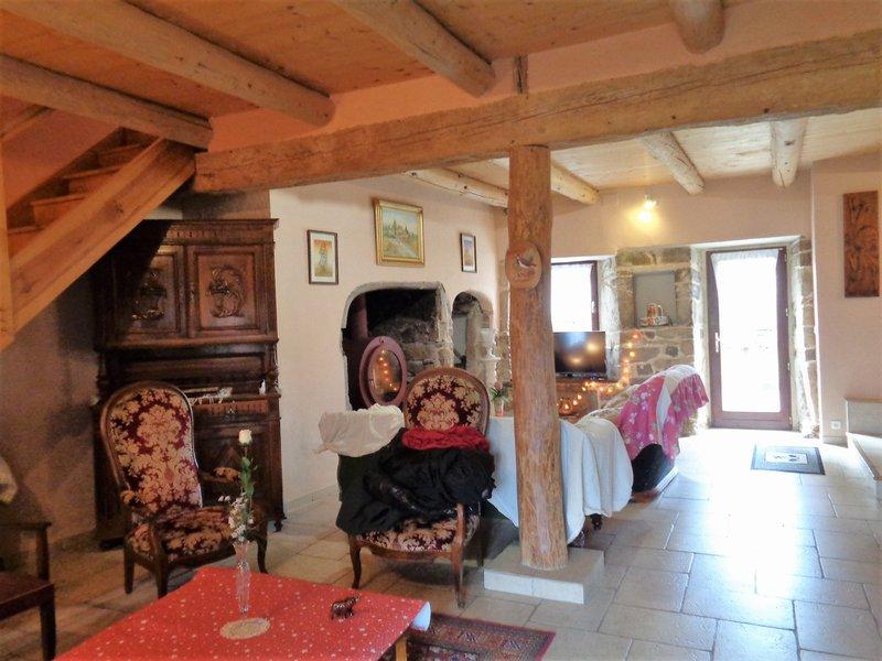 Saint Privat d'Allier (43) superbe ferme rénovée de 230 m2