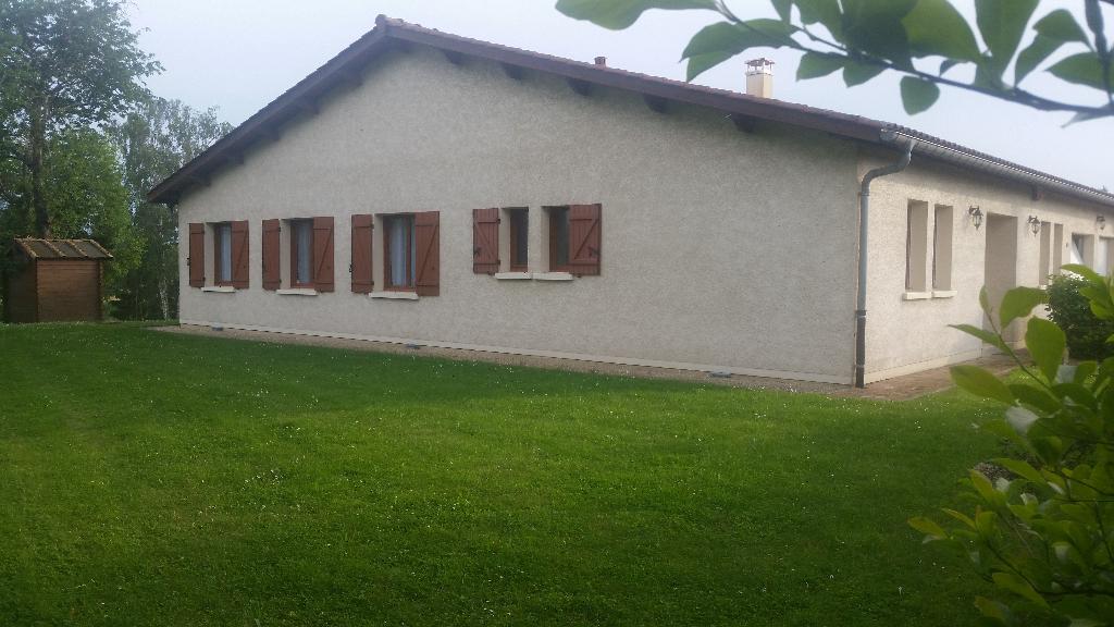 Belle Maison Individuelle de 180 m²  habitable et de Plain Pied